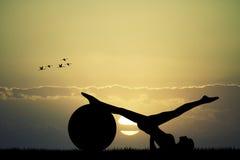 Pilates Immagine Stock Libera da Diritti