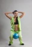 Pilates Lizenzfreie Stockbilder