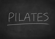 Pilates Stock Afbeelding