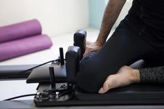 Pilates-Ausrüstung lizenzfreie stockbilder