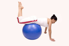 Pilates ball Stock Photos