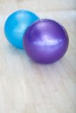 Pilates balls Stock Photography