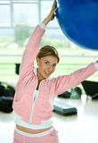 Pilates class Royalty Free Stock Images