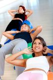 Pilates class at the gym Stock Photo