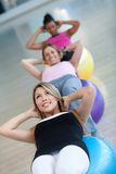 Pilates class at the gym Stock Photos