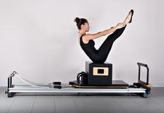 Pilates da ginástica Foto de Stock
