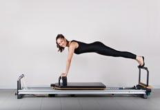 Pilates da ginástica Imagens de Stock Royalty Free