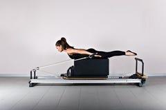 Pilates de gymnastique Image libre de droits