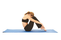 Pilates exercise series Stock Images