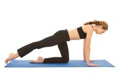 Pilates exercise series Royalty Free Stock Photo