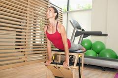Pilates exercises Royalty Free Stock Photos