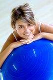 Pilates female portrait Stock Photo