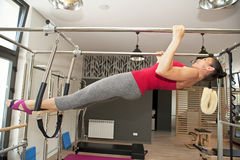 Pilates girl Stock Photos