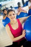 Pilates group Stock Photo