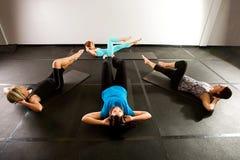 Pilates grupp Arkivfoton