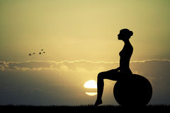 Pilates Royalty Free Stock Photo