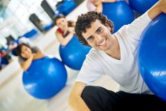 Pilates instructor Royalty Free Stock Images