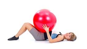 Pilates moments Royalty Free Stock Photo