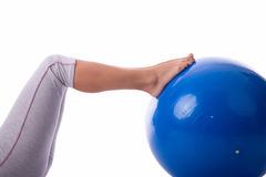 Pilates pleasure Stock Images
