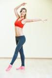 Pilates que estica exercícios da aptidão Imagem de Stock Royalty Free