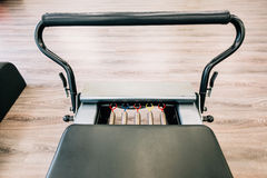Pilates reformer royalty free stock photos