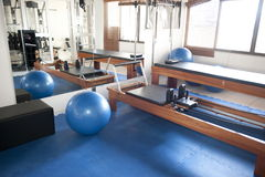 Pilates Room Royalty Free Stock Photo