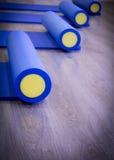 Pilates rulle Arkivbild