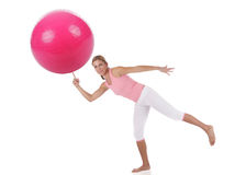 Pilates Training Stockfoto