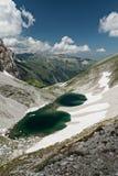 Pilatomeer op de Sibillini-bergen royalty-vrije stock foto's