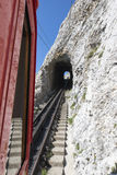 Pilatus铁路,瑞士 库存图片