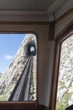 Pilatus铁路,瑞士 免版税库存照片