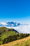 Pilatus above the clound Royalty Free Stock Photo