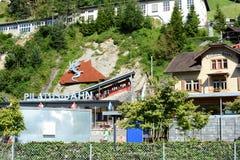 Pilatus-Bahn Imágenes de archivo libres de regalías