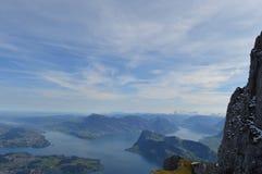 Pilatus-Berg Stockfotografie