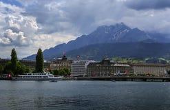 Pilatus berg, Lucerne Royaltyfri Fotografi