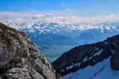 Pilatus en Suisse, bâti Pilatus photographie stock libre de droits