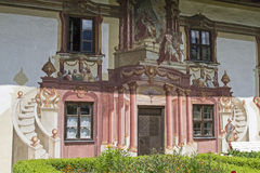 Pilatus house in Oberammergau Royalty Free Stock Photography
