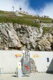 Pilatus Kulm station near the summit of Mount Pilatus Royalty Free Stock Images