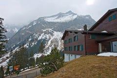 Pilatus Mountain at Lucern Royalty Free Stock Photo