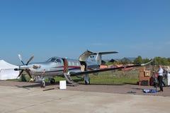 Pilatus PC-12 Royalty Free Stock Photography