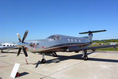 Pilatus PC-12/45 Royalty Free Stock Photography