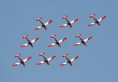 Pilatus PC-7 Stock Image