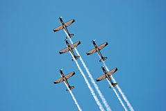 Pilatus PC-7 M II Astra Kunstfliegen-Team Stockfoto