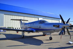 Pilatus PC-12/45 aircraft Stock Photo