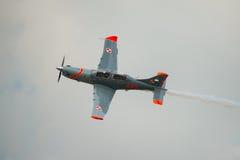 Pilatus PC-21 aircraft Royalty Free Stock Photos
