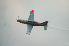 Pilatus PC-21 flygplan royaltyfria foton