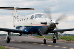Pilatus PC-12s aircraft Stock Image