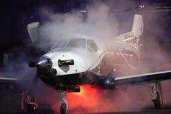 Pilatus PC-12 Zamykający zdjęcia stock