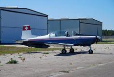 Pilatus PC3 airplane Royalty Free Stock Image