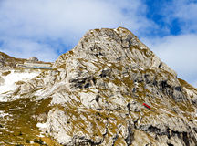 Pilatus peak, Switzerland Stock Photography